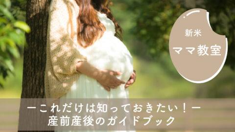 新米ママ教室〜これだけは知っておきたい!産前産後のガイドブック〜